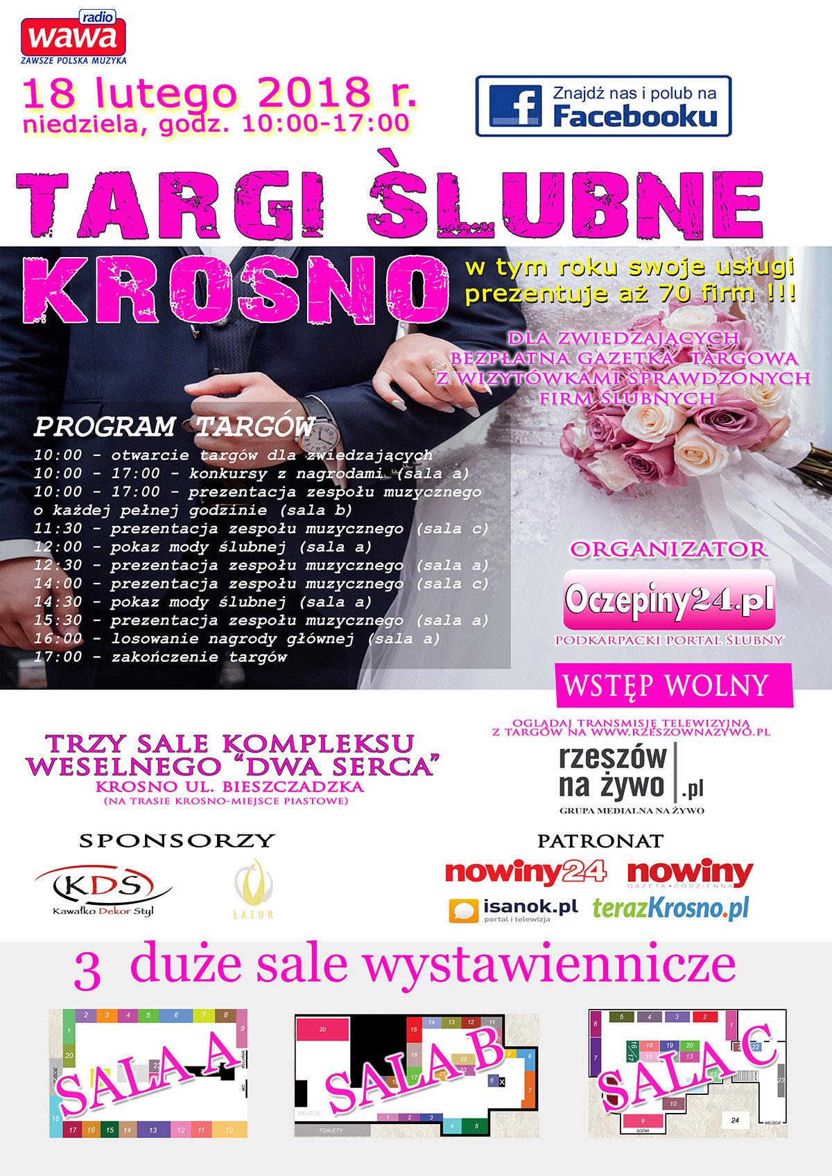 Targi Ślubne w Krośnie 18.02.2018